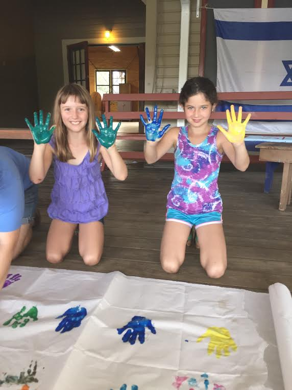Kochavim making our own Walk of Stars!